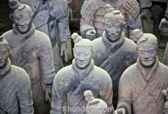 Army of the Terracotta Warriors ©Rhonda Albom 2012. All Rights Reserved.