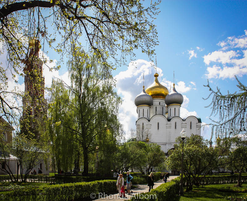 Novodevichy in Moscow, Russia (Europe)