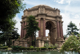Palace of Fine Arts, San Francisco, California, USA (North America)